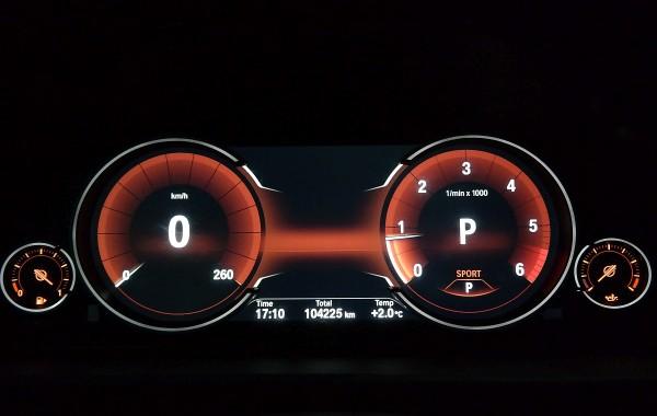 Zegary LCD Seria F